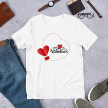 Happy Day Valentines Love Shirt, Valentine's Day Shirt,  Women's Valenti... - $32.00