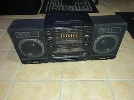 VTG Soundesign 5834 Dual Cassette Deck/Radio MIni Stereo System No Remote - $99.00