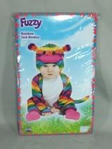 Fun World Kids Rainbow Sock Monkey Toddler Costume Small - $12.99