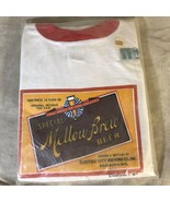 Vintage Dead Stock 1977 Mellow Brew Beer T-Shirt Size XL - $126.71