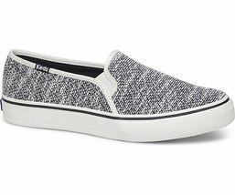 Keds Womens Double Decker Hygge Knit Slip-On Sneakers Blue - $37.50