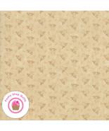 Moda MILESTONES 9615 11 Tan Beige  Tonal  KANSAS TROUBLES Quilt Fabric - $5.50