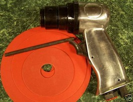 "5"" High Speed AIR SANDER TOOL with 3 discs and Built in Regulator H.S. new sand - $19.99"