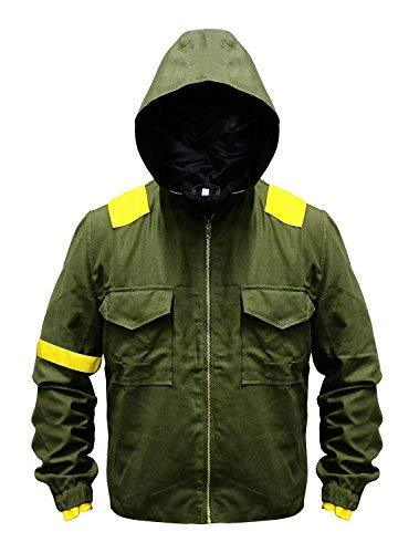 Mens Twenty One 21 Pilots Tyler Joseph Green Cotton Hoodie Jacket