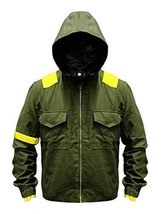 Mens Twenty One 21 Pilots Tyler Joseph Green Cotton Hoodie Jacket image 1