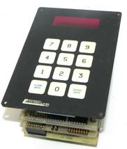 CINCINNATI ELECTROSYSTEMS 612-5-SO-1A-1B KEYPAD, 6012-401 REV. B