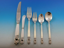 Royal Danish by International Sterling Silver Flatware Set for 24 Dinner 164 pcs - $11,995.00