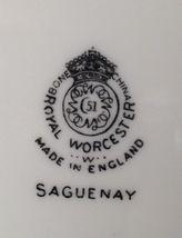 Royal Worcester china Saguenay salad plate ( 16 available ) image 3