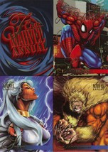 Promotional Marvel Comics Art Card Sheet - $9.95
