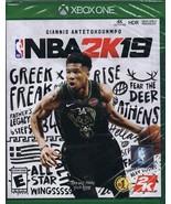 NEW SEALED NBA2K19 XBox One Greek Freak Giannis Antetokounmpo - $13.99