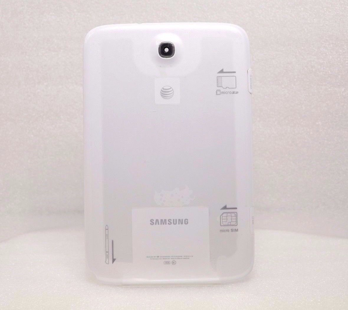 OEM Samsung Galaxy Note 8.0 SGH-I467 Rear Battery Cover Housing w/ Camera Lens