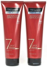 2 Tresemme Expert Selection Keratin 7 Day Smooth System Shampoo Low Sulfate 9 oz - $19.79