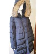 Authentic COACH Women's Long Legacy Puffer Down Fur Coat Jacket Belt - L... - $232.82