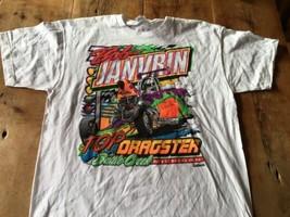 Bob Janvrin Top fuel Dragster XL T-Shirt NHRA - $13.06