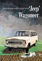 1966 Jeep Wagoneer - Promotional Advertising Poster - $9.99+