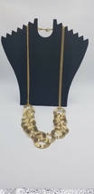 Vintage Gold Tone 1980s Spiral Spring Necklace Disco Club Hollywood Styl... - $17.38