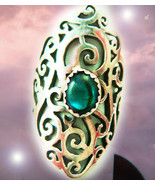 HAUNTED RING BEYOND THE 7 VEILS MYSTICAL TREASURE EXTREME MAGICK SCHOLARS - $137,007.77