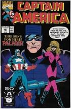 Captain America Comic Book #381 Marvel Comics 1991 FINE+ - $1.75