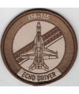 "3"" NAVY VFA-105 GUNSLINGER ECHO BABY BULLET DESERT EMBROIDERED JACKET PATCH - $28.49"