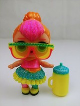 LOL Surprise Doll Glam Glitter Neon Q.T. Baby  Big Sis With Accessories - $12.59