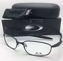 New OAKLEY Eyeglasses BLENDER 6B OX3162-0355 55-17 133 Matte Satin Black... - $169.95