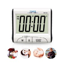 YIEPHIOT Kitchen Timer, Mini Digital Alarm Timer for Cooking Classroom K... - $10.15