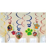 Paw Patrol 12 Swirl Hanging Decorations Value Pack Nickelodeon - $6.55