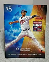Minnesota Twins 2017 Spring Training Scorecard and Program Ervin Santana - $6.79