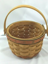 Vintage Longaberger Little Pumpkin Basket 1997 26370 - $47.51