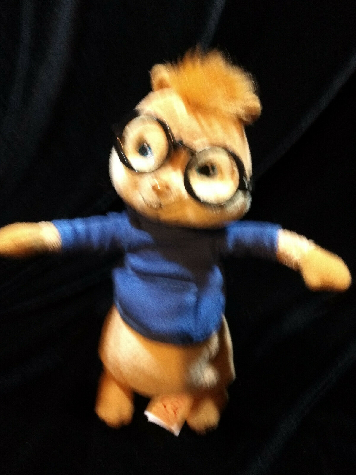 Ty Beanie Baby SIMON  (ALVIN and the Chipmunks) (7 Inch) Just Play LLC