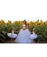 Mommy and Daughter Matching White Tutu Skirts - $80.00+