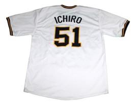 Ichiro Suzuki Orix Blue Wave Baseball Jersey White Any Size image 2