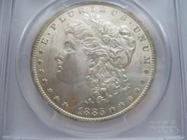 1885-O , Morgan Silver Dollar , PCGS , MS 64 - $100.00