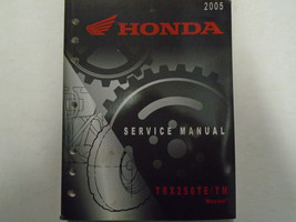2005 Honda TRX250TE TRX250TM Service Shop Repair Manual Factory OEM Book... - $47.51