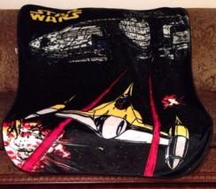 """Star Wars Throw Blanket N-1 Naboo StarFighter 50x60"""" Soft Cuddly Luxury... - $31.41"""