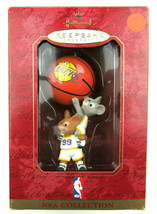 1999 Hallmark LA LOS ANGELES LAKERS Christmas Ornament NBA BASKETBALL Co... - $19.95