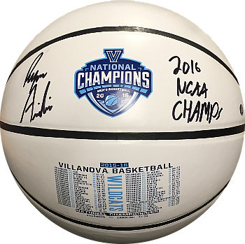 Ryan Arcidiacono signed Villanova Wildcats National Champions Commemorative Logo