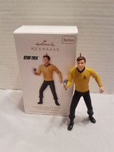 "Captain James T Kirk Star Trek Legends Hallmark Keepsake Ornament 4"" Box... - $9.89"