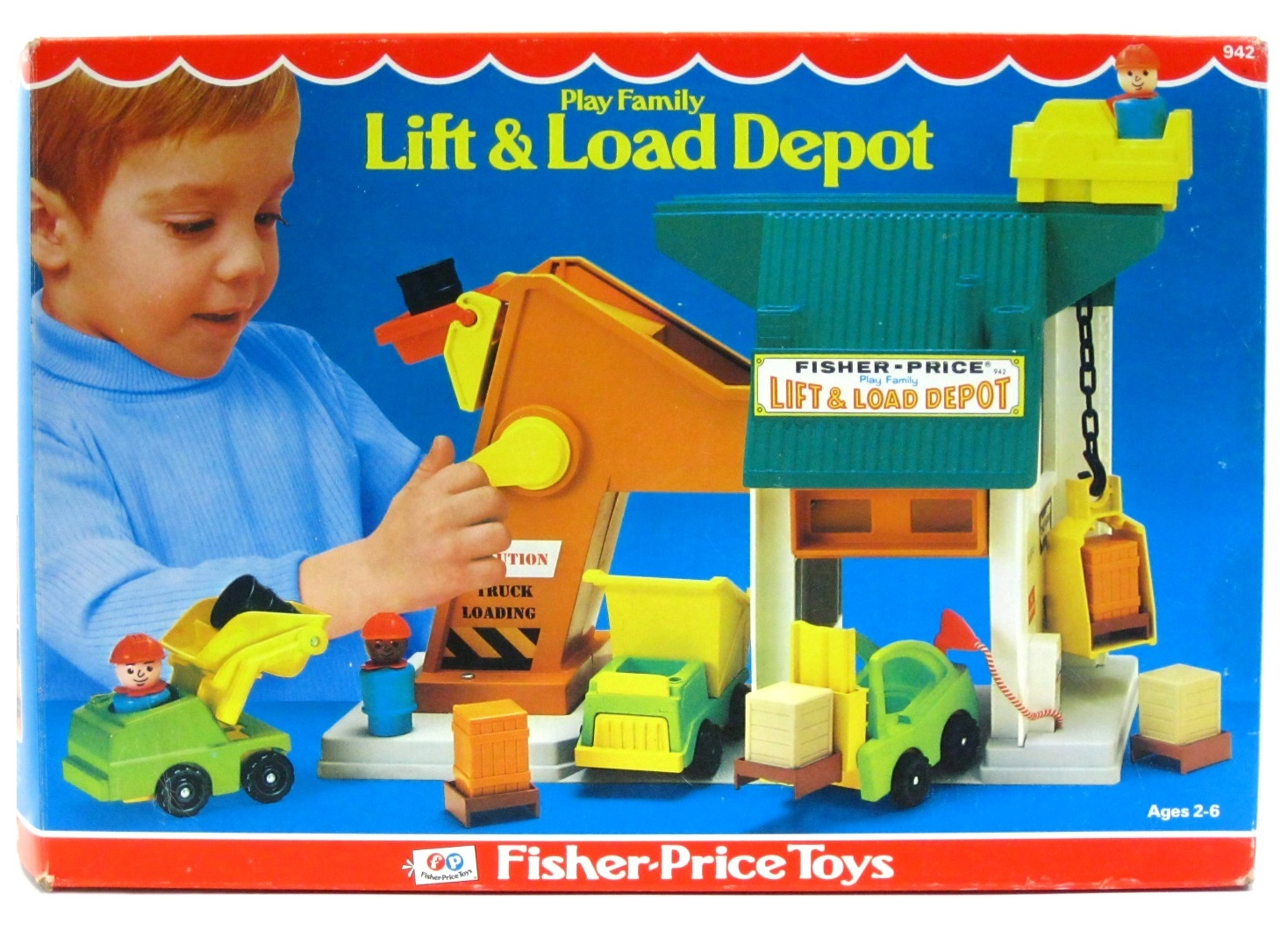 Vintage Fisher Price Little People Lift & and 50 similar items