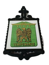 1808 Temperance Hot Pot Holder Vintage made in Japan - $9.61