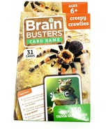 Brain Busters Card Game - Creepy Crawlies - with Over 150 Trivia Questions - $9.89