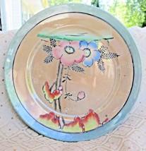 6 Vintage Japanese Lusterware Dessert Plates - $26.73
