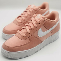 NEW Nike Air Force 1 PE GS Coral Stardust BV0064-600 GS Size 7Y/Women's Size 8.5 - $128.69