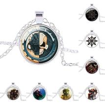 Warhammer 40K Bronze Alloy & Tough Glass Unisex Necklace / Pendant - Str... - $6.99