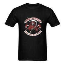 FireFighter Till The Day I Die Men's T-Shirt in USA Size (Two Sides Prin... - $24.99