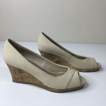 Cork Color Women's Fabric Life Comfort Wedge 7M Upper Natural System Stride Heel xgqxY7wH