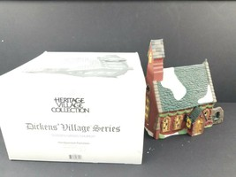 Department Dept 56 Dickens Village Series Dudden Cross Church #5834-3 In... - $22.12