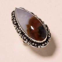 """Designer Blood Stone Gemstone Fashion Ethnic Jewelry Ring S-7.75"""" AU-381 - $3.47"""