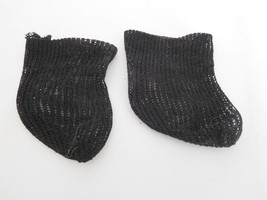 Antique Black Opaque Short Socks Stockings for ... - $14.99