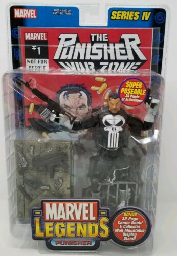 MARVEL LEGENDS PUNISHER War Zone SERIES IV TOY BIZ Action Figure NIB 2003